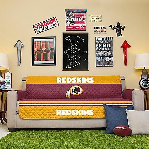Nfl Washington Redskins Sofa Cover Bed Bath Amp Beyond