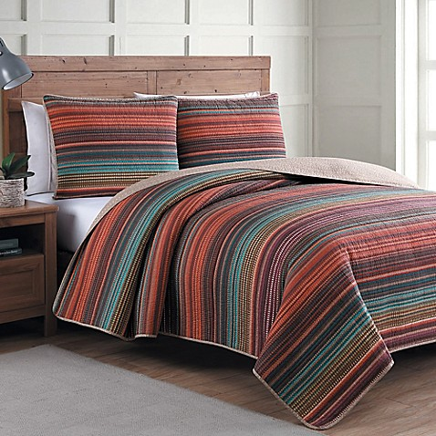 Estate Taj Reversible Quilt Set Bed Bath Amp Beyond