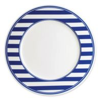 Caskata Beach Towel Stripe Dinner Plate