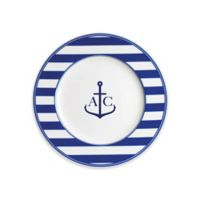 Caskata Beach Towel Stripe Salad Plate