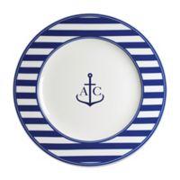 Caskata Beach Towel Stripe Charger Plate