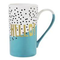 "Formations ""Hello"" Latte Mug"