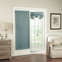 Solar Shield Wilder 68-Inch Room Darkening Door Curtain Panel in Blue