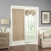 Solar Shield Wilder 68-Inch Room Darkening Door Curtain Panel in Wheat