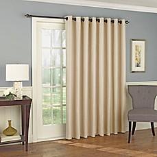 Solar Shield Wilder 84 Inch Grommet Room Darkening Patio Door Curtain Panel