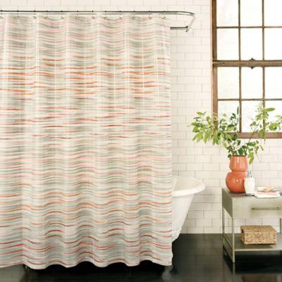 Buy shower curtains hooks from bed bath beyond brushstroke peva shower curtain urtaz Choice Image