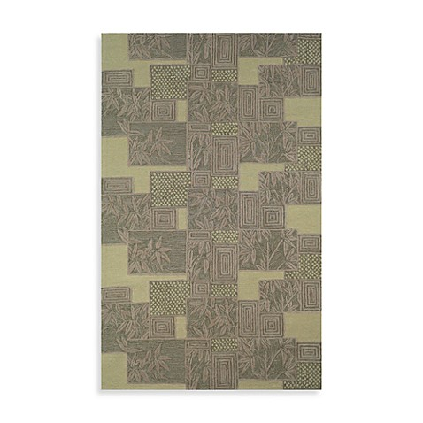Box Kiwi Room Size Rug by Tommy Bahama - 5-Foot x 8-Foot