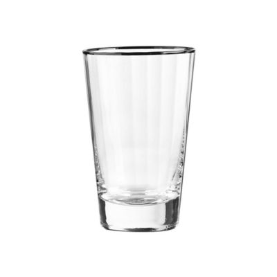 qualia dominion highball glasses in platinum set of 4 - Highball Glasses
