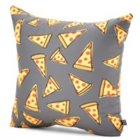 DENY Designs Leah Flores Pizza Party Square Throw Pillow