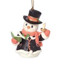 "Precious Moments® ""O Come, All Ye Faithful"" Snowman Ornament"