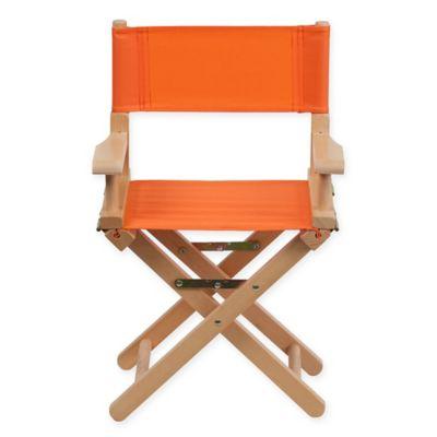 Flash Furniture Kids Directors Chair In Orange