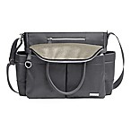 Skip*Hop® Chelsea Downtown Chic Satchel Diaper Bag in Charcoal Grey