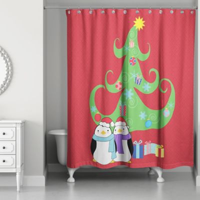 buy holiday shower curtains from bed bath & beyond