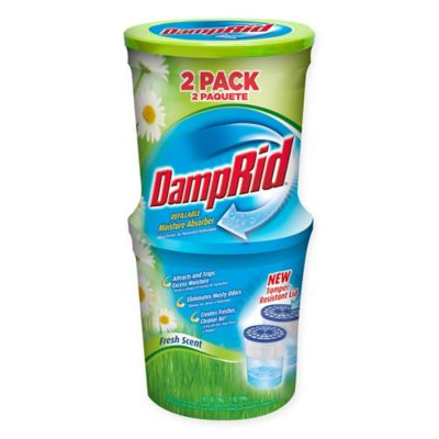 damprid 2pack fresh scent refillable moisture absorber