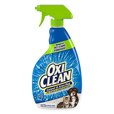 Oxiclean 24 Oz Carpet And Area Rug Pet Stain And Odor