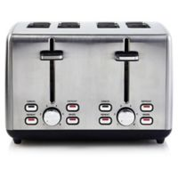 Professional Series Stainless Steel 4-Slice Toaster