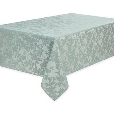 Waterford® Essentials Brindille 60 Inch X 144 Inch Oblong Tablecloth In Aqua