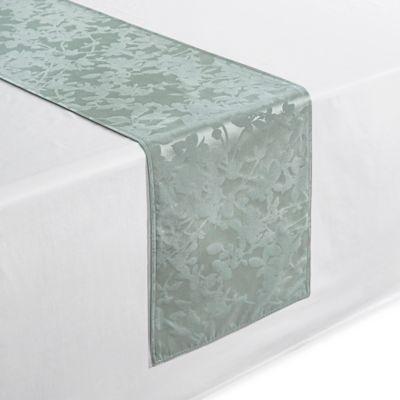 Waterford® Essentials Brindille 90 Inch Table Runner In Aqua
