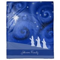 Starry 3 Kings Custom Throw Blanket