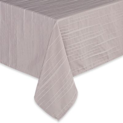 Exceptionnel Waterford® Essentials Linea 60 Inch X 144 Inch Oblong Tablecloth In Taupe