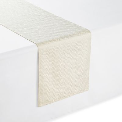 Waterford® Essentials Olivette 108 Inch Table Runner In Ivory