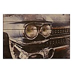 Cadillac Wood Plank Wall Art