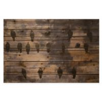 Wired Birds 36-Inch x 24-Inch Wall Art