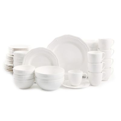 Gibson Miranda 48-Piece Dinnerware Set  sc 1 st  Bed Bath u0026 Beyond & Buy Gibson Everyday Dinnerware from Bed Bath u0026 Beyond