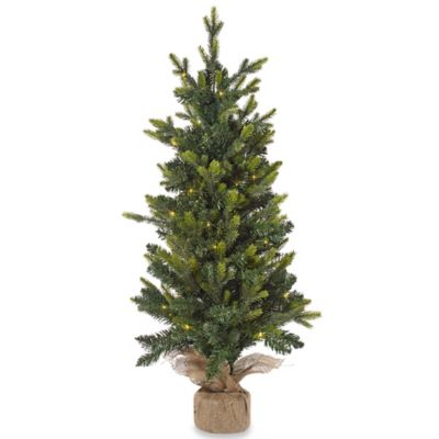 Buy 3 Foot Lighted Christmas Tree from Bed Bath & Beyond