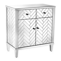 Sterling Industries Chatelet Collection Mirrored Cabinet