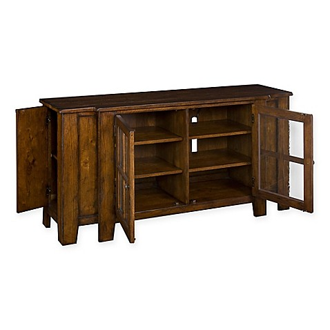 Broyhill 174 Attic Heirlooms Entertainment Console In Rustic