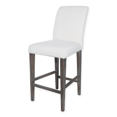 Sterling Industries Couture Covers Parsons Bar Stool in White  sc 1 st  Bed Bath u0026 Beyond & Buy Bar Stool Covers from Bed Bath u0026 Beyond islam-shia.org