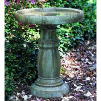 Campania Large Classic Birdbath in Copper Bronze