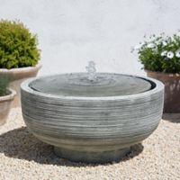 Campania Girona Outdoor Fountain in Alpine Stone