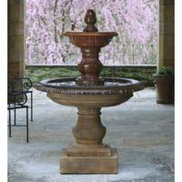 Campania San Pietro Outdoor Fountain in Pietra Vecchia