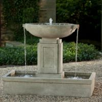 Campania Austin Outdoor Fountain in Alpine Stone