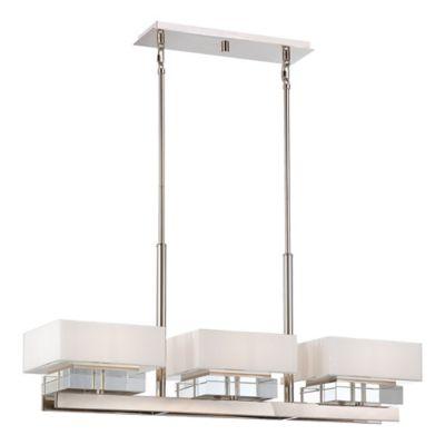 adjustable lighting fixtures. Metropolitan Home Eden Roe 6-Light Island Fixture In Polished Nickel Adjustable Lighting Fixtures