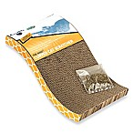 OurPets S Shaped Corrugate Cat Scratcher