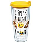 Tervis® I Speak Fluent Emoji™ 24 oz. Wrap Tumbler with Lid