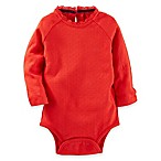 OshKosh B'gosh® Size 3M Lurex Bodysuit in Red