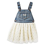 OshKosh B'gosh® Size 6M Sparkle Dots Skortall in Cream