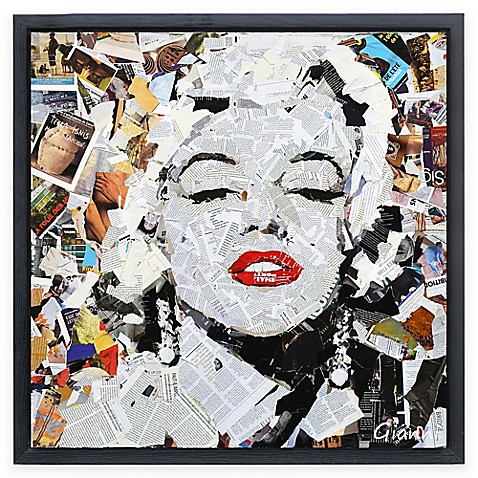 Homage to Beauty A Framed Collage Wall Art - Bed Bath & Beyond