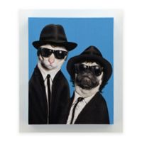 "Empire Art Direct Pets Rock™ Giclee Printed ""Brothers"" Canvas Wall Art"