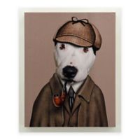 """Empire Art Direct Pets Rock™ Giclee Printed """"Detective"""" Canvas Wall Art"""