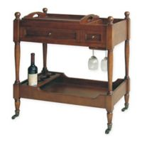 Wayborn Birch Wood Rolling Serving Cart