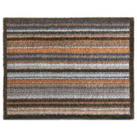 Bosmere Striped 25-Inch x 33-Inch Hug Rug Mat