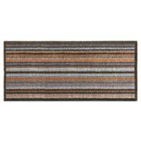 Bosmere Striped 25-Inch x 59-Inch Hug Rug Mat