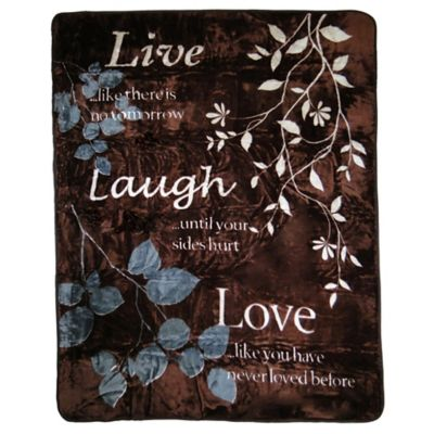 Live Love Laugh And Learn Heart Words Bathroom Set