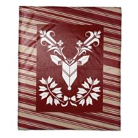 Reindeer Tapestry Throw Blanket