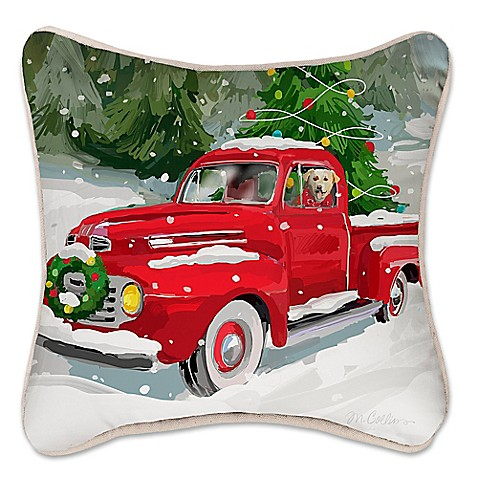 Holiday Drive Square Throw Pillow - Bed Bath & Beyond